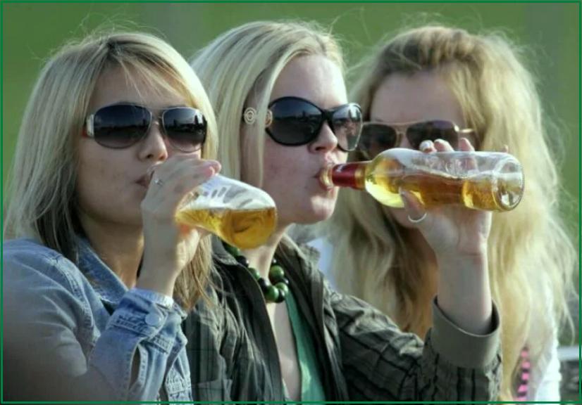 алкоголь среди подростков